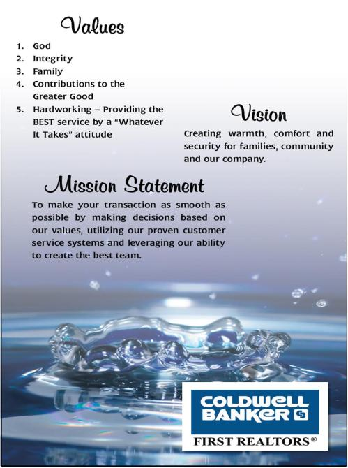 Mission Vision Value