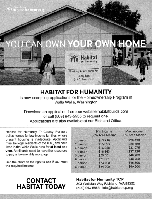 Habitat Flyer